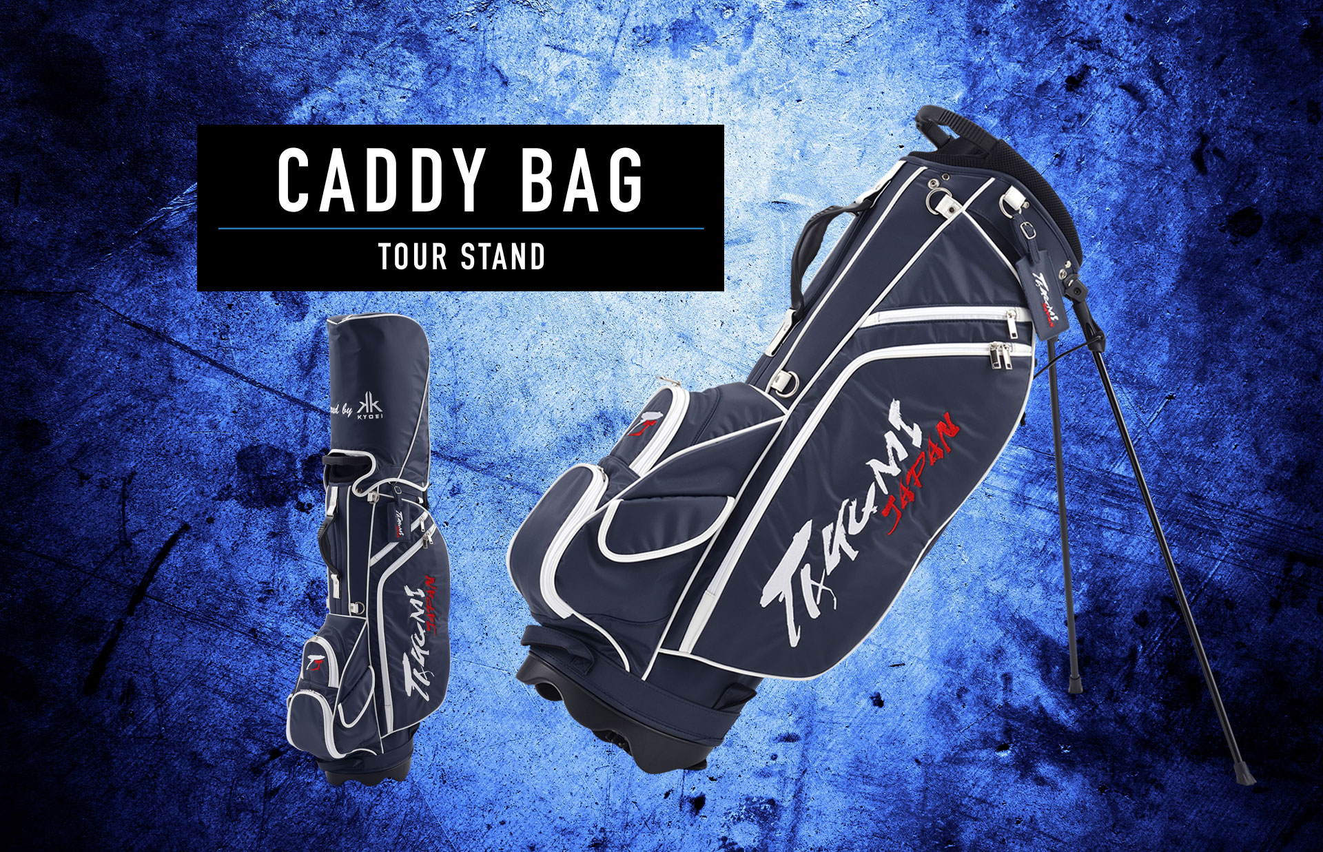 CADDY BAG TOUR STAND